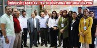 Kahramanmaraş'ta Üniversite Tercih Bürosu Açıldı