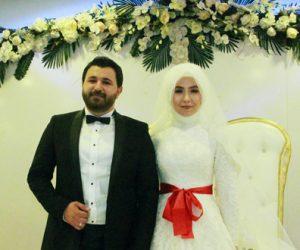 Fatma Zehra Şirikçi ile Yasin Yılmaz Dünya evine girdi