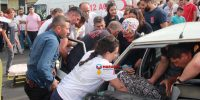 Kahramanmaraş'ta trafik kazsında 1 ağır olmak üzere 7 kişi yaralandı