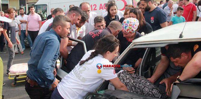 Kahramanmaraş'ta Feci Trafik Kazası