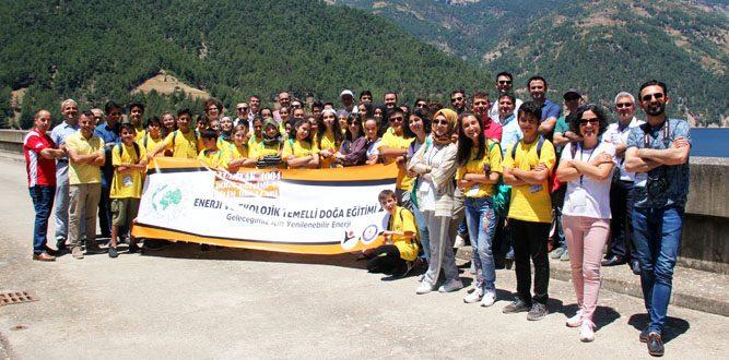 Enerji Ve Ekolojik Temelli Doğa Eğitimi 2 Sır Barajında