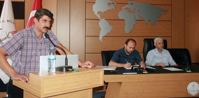 Dulkadiroğlu okul yöneticilerine İSG değerlendirme toplantısı