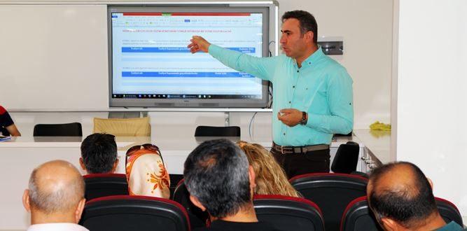 Onikişubat MEM'de 2023 Vizyon Eğitimi