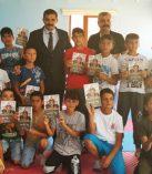 Sinan Ateş'ten Çocuk Ziyaretleri