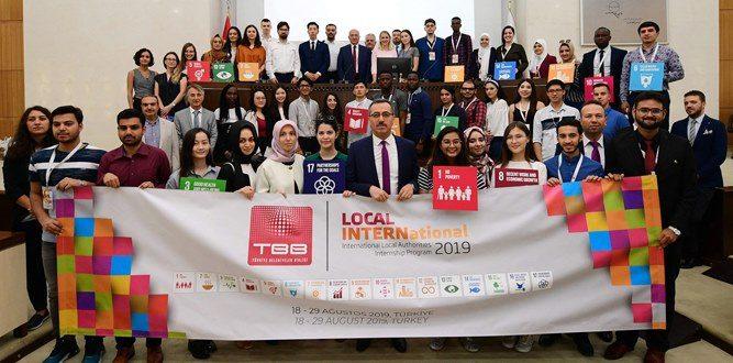 34 ülkeden gelen 41 öğrenci Kahramanmaraş'ta