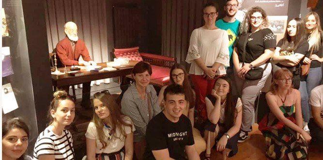 Şiirin Başkenti Kahramanmaraş'ta Erasmus+ Şiir Projesi