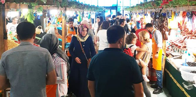 Kahramanmaraşlılar Yöresel Pazarı Sevdi