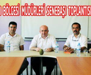Önsen Şehit Ahmet Altun ÇPAL'nde Yeni Öğretim Yılı  Bölge Müdürler Toplantısı