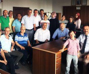 Millî Eğitim Müdürlüğünün Kıdemli Tesisi Müdürü Cafer Bulut Emekli Odu