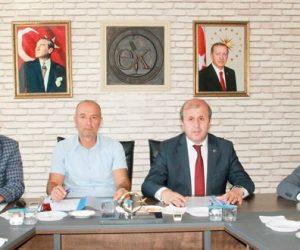 Kahramanmaraş'ta Halk Eğitimi Merkezi Müdürleri Ekinözü'nde Toplandı