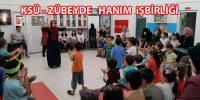 """KSÜ ile Zübeyde Hanım Anaokulunun """"Okula Geçiş Partisi """""""