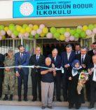 Esin – Ergün Bodur İlkokulu'nun açılışı yapıldı