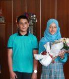 Hacı Bayram Veli İmam Hatip Ortaokulu İl Millî Eğitim Müdürü Makamını Ziyaret Etti