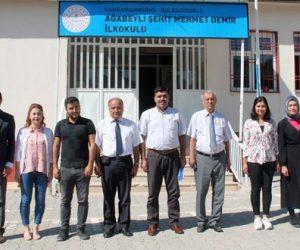 Müdür Harun Kurt, Ağabeyli Şehit Mehmet Demir İlkokulunu Ziyaret Etti
