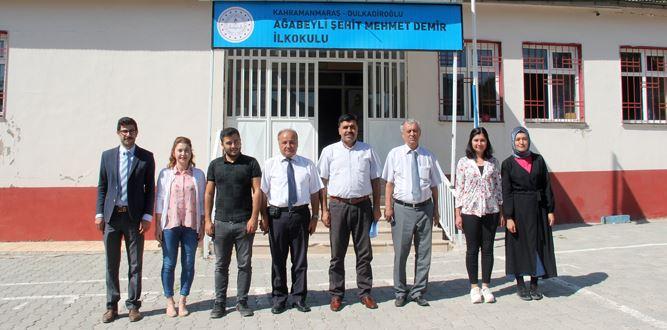 Ağabeyli Şehit Mehmet Demir İlkokuluna Ziyaret