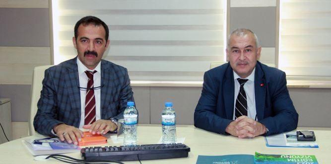 Vali Yardımcısı Fatih Damatlar'a MEM-AR-GE Projeleri tanıtıldı