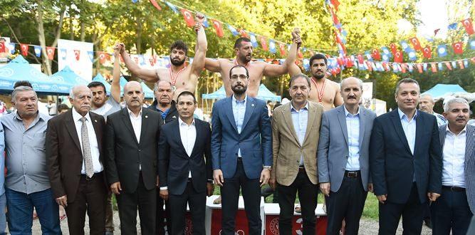 6. Şeref Eroğlu Güreş Turnuvası Yapıldı