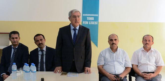 Kahramanmaraş'ta Liselerde İlk Ders KSÜ'den
