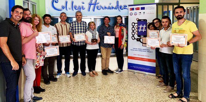 İl MEM'in Erasmus+ Proje Toplantısı İspanya'da Yapıldı