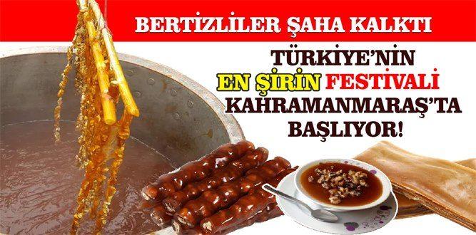 Türkiye'nin En Şirin Festivali Kahramanmaraş'ta Başlıyor