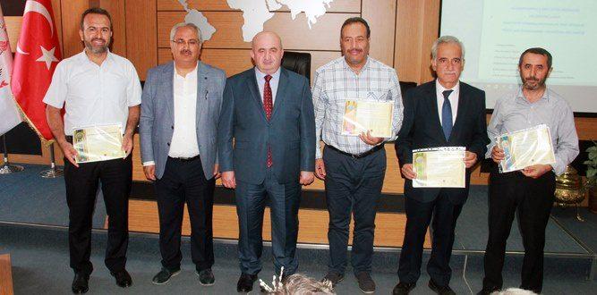 Kahramanmaraş'ta (KTS) Başarı Belgesi Teslim Töreni Yapıldı