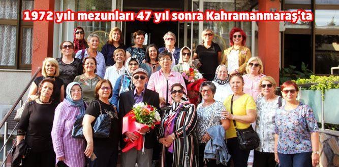 47 Yıl Sonra Kahramanmaraş'ta Tarih Yazdılar