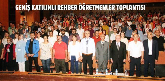 Rehberlik Öğretmenleri Sene Başı Toplantısı Yapıldı
