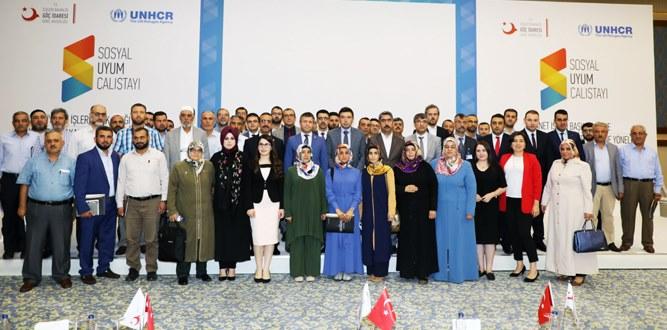 Sosyal Uyum Çalıştayı-8 Gaziantep'te Gerçekleştirildi