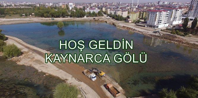 Pınarbaşı'na Kardeş Göl Geliyor