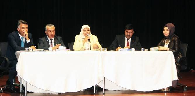 Milletvekili Öçal Eğitim Yöneticileri İle İstişarede Bulundu
