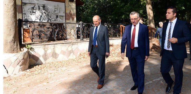 Başkan Güngör'den Maraş Kalesi Müjdesi