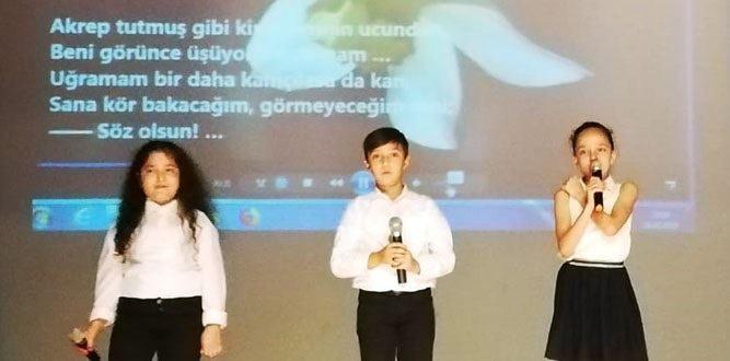 Kahramanmaraş'ta Bahaettin Karakoç şiir dinletisi