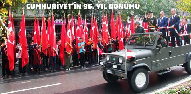 Kahramanmaraş'ta Cumhuriyetin 96. Yıl Coşkusu