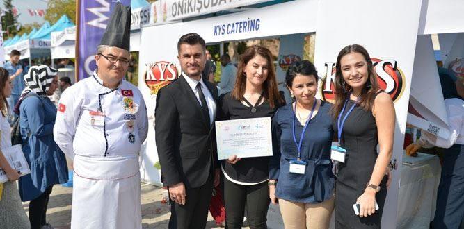 KYS'nin İstihdam Desteği Ödüllendirildi