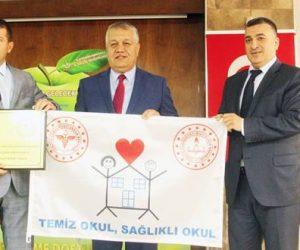 Kahramanmaraş'ta Beyaz Bayrak ve Beslenme Dostu Okul Projesi Ödül Töreni Yapıldı