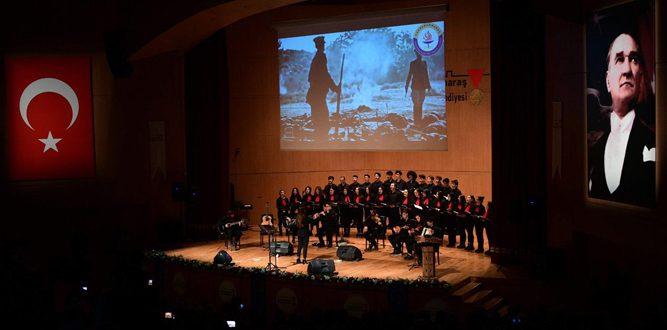 Atatürk, Kahramanmaraş'ta Salon Programında Anıldı