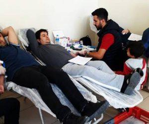 kan Bağışına Ökkaş Gümüşer Ortaokulundan Destek