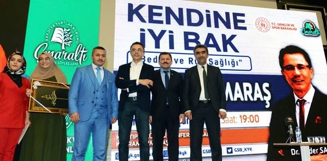 """Dr. Ender Saraç, KSÜ'de """"Kendine İyi Bak"""" Konulu Seminer Verdi"""