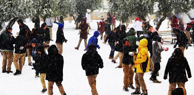 Kahramanmaraş İlçelerinde Eğitime Kar Engeli