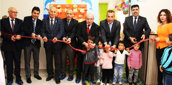 Dulkadiroğlu HEM'de Çocuk Bakım ve Oyun Odası Açıldı.
