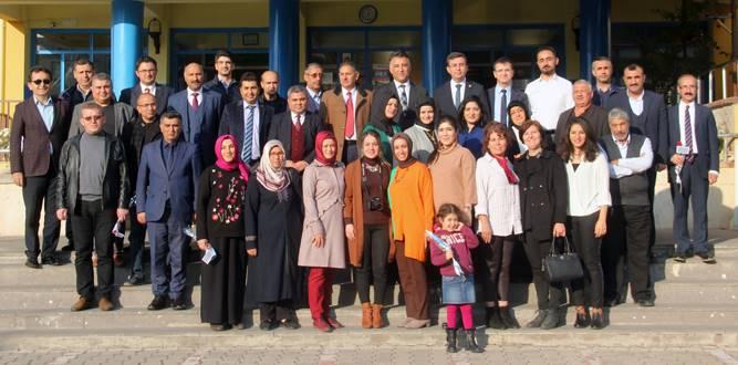 Kaymakam Serkan Keçeli,Ahmet Bayazıt İlkokulunda