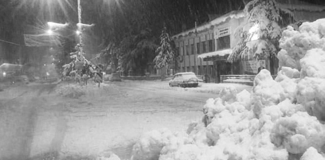 Kahramanmaraş'ta Kar ve Tipi tatili