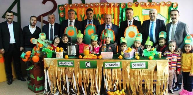 Yıldırım Bayazıt İlkokulunda C Vitamin Şenliği