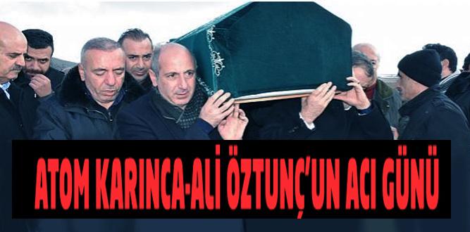 Milletvekili Ali Öztunç'un babası gözyaşları içinde defnedildi