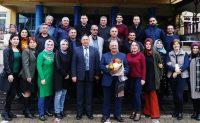 Bilal Sünbül Öğretmen 42 yıllık meslek hayatını emekli olarak sona erdirdi