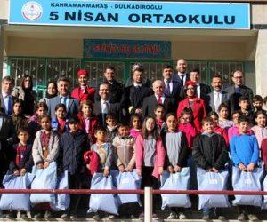 5 Nisan Ortaokulunda Türk Hava Yolları yetkilileri eğitim verdi