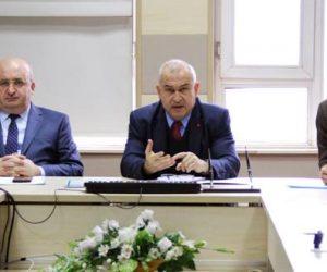 Vali Yardımcısı Damatlar Başkanlığında Eğitim Ortamında Şiddetin Önlenmesi Toplantısı