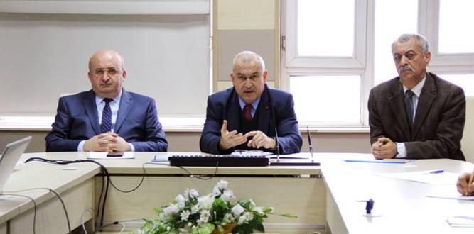 Eğitim OrtamlarındaŞiddetinÖnlenmesi Toplantısı Yapıldı