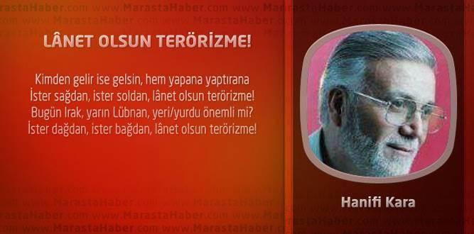 LÂNET OLSUN TERÖRİZME!