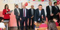 Kahramanmaraş 'ta Onikişubat Ayşe Gümüşer İlkokulu ve Dulkadiroğlu Fatih İlkokulu'nda karne dağıtım töreni düzenlendi.